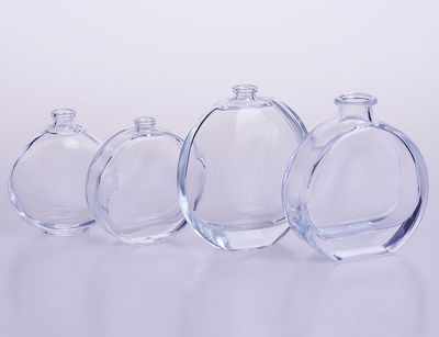 Oval Flat Bottle Perfume Glass Bottle 50ml 80ml 100ml