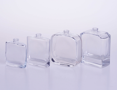 Customized Square Perfume Glass Bottle