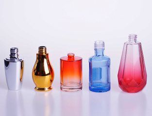 China supply Custom colored Glass Perfume Bottle